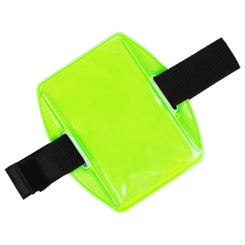 35192-HOLDER, ARM BADGE, 2-3/8INX3-3/8IN (IS), GREEN